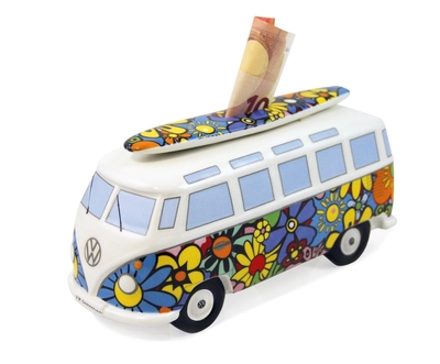 VW Collection Campervan ceramic moneybox