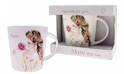 Vintage Lane mug for Mum in a gift box