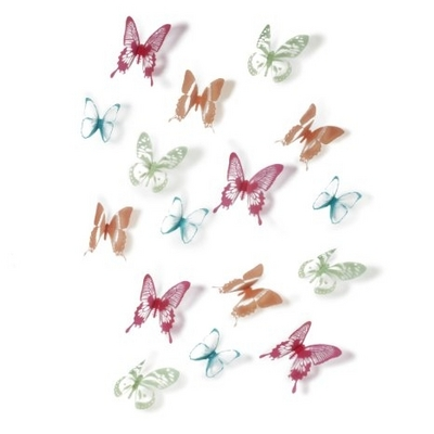 Wall Decor Chrysalis, color 15pc