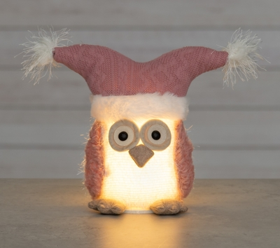 Winteria Owl with LED lights