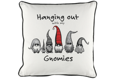 Winteria Pillow Hanging out with my Gnomies