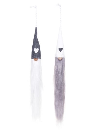Winterseason Elf longbeard dangling, 40cm, different types