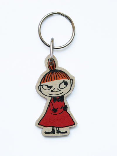 Wooden Moomin Keychain, Little My