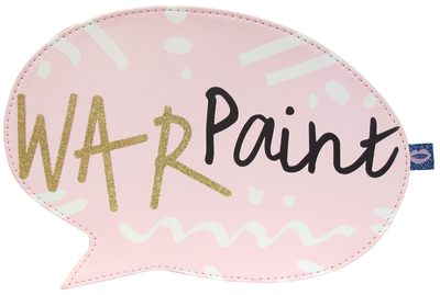 "Yoo Hoo ""War Paint"" makeup bag"