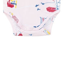 """Pulahdus"" Moomin body suit, rose"