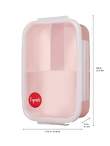 3 Sprouts children's lunch box deer, light pink