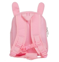 A Little Lovely Company backpack, light pink bunny