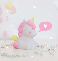 A Little Lovely Company nightlight, unicorn