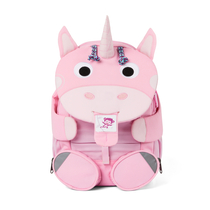 Affenzahn children's big club backpack, light pink unicorn