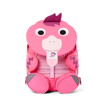 Affenzahn children's big club backpack, pink flamingo