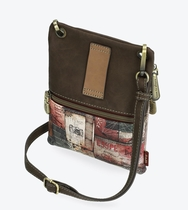 Anekke Egypt Small shoulder bag with 3 zippers
