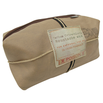 "Apothecary toiletry bag ""Moustache"""