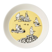 Arabia Collector's plates Yellow & Hurray, 19cm, part 6/10