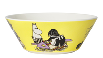 Arabia Moomin bowl Misabel, yellow