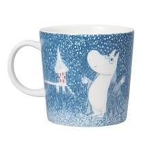 Arabia Moomin mug Moomin Winter mug 2018 – Light Snowfall