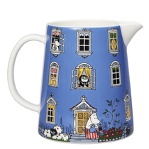 Arabia pitcher Moominhouse with a lid 1,0L