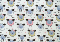 Baby's patterned diaper gauze/ cloth gauze, sheep