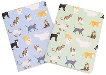Best in Show notebook 2pcs, A6, cats