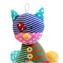 Bobobaby baby's educational stuffed animal, cat