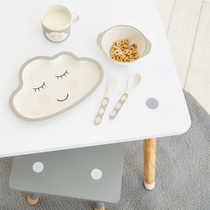 Child's dinnerware set, bamboo, Sweet Dreams