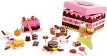 Children's lovely chest of sweets, 39 pieces