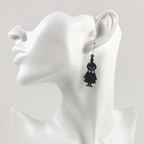 Coruu Brisk Little My earrings, black