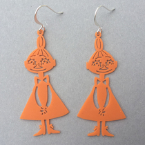 Coruu Mymble earrings, orange