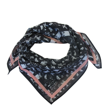 Day Dream Black Cat Scarf