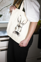Ecological shopper bag, Henna Adel - Bunny