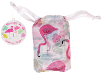 Flamingo Bay foldable shopping bag