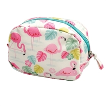 Flamingo Bay makeup bag