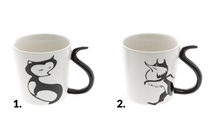 Fox mug 2.5 dl, two different designs