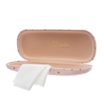 Glasses case, Girl Power, light pink
