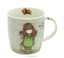 Gorjuss™ Mug The Fox in a Gift Box