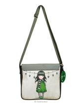 Gorjuss™ The Scarf shoulder bag with a flap