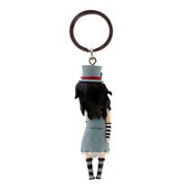 Gorjuss™ keychain decoration / key fob, The Hatter