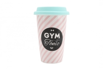 Gym & Tonic ceramic take away mug