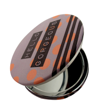 "House of Disaster Arm Candy compact mirror ""Hello Gorgeous"""