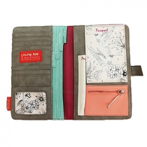 House of Disaster Colour me travel wallet