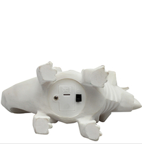 House of Disaster Dinosaur LED lamp, white