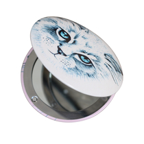House of Disaster Meow compact mirror