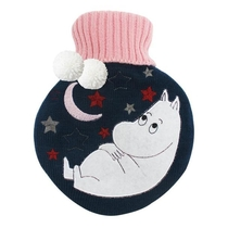 House of Disaster Moomin Hot water bottle, Moon