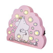 House of Disaster Moomin LED cloud lamp, light pink, Love