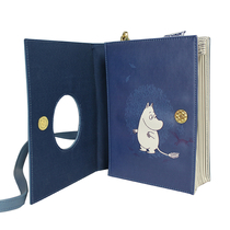 House of Disaster Moomin book bag, The world of moominvalley