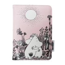 House of Disaster Moomin passport cover Love, light pink