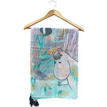House of Disaster Moomin scarf, pastel
