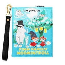 House of Disaster Moomin small book shaped bag, Family