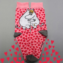 House of Disaster Moomin socks, Hearts