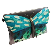 House of Disaster Papillon hand-/shoulder bag, turquoise