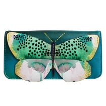 House of Disaster Papillon wallet, turquoise